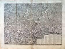 ROMA. Nuova pianta di Roma in Prospettiva. GIUSEPPE VASI. 1781