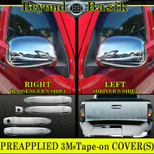 2009 2010 2011 TOYOTA TACOMA Chrome Door Handle  Mirror Tailgate COVERS Trim 4DR