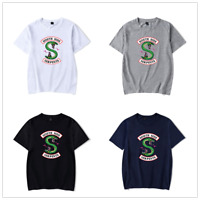 New Riverdale South Side Serpents Tshirt Cotton Men Women's Short Sleeve T-shirt