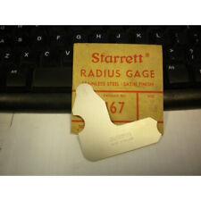 Starrett 167 932 Radius Gage