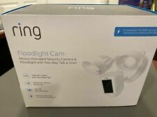 Ring Motion Floodlight Security Camera White with 1 Year Warranty