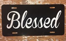 Christian Blessed License Plate Car Tag Religious Custom New Custom Colors