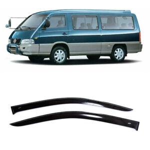 For SsangYong Istana 1995-2003 Window Side Visors Sun Rain Guard Vent Deflectors