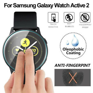 For Samsung Galaxy Watch Active 2 Tempered Glass Screen Protector Gurad Film HD