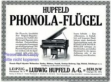 Shop For Cheap Self Playing Piano Phonola German Ad 1907 Hupfeld Leipzig Richard Wagner Merchandise & Memorabilia