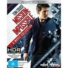Mission Impossible (Blu-ray, 2018, 13-Disc Set)