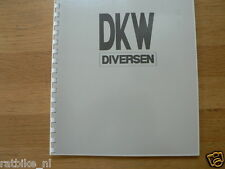 D0010 DKW DIVERSEN, ALL SORT OF INFO