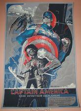 Captain America Winter Soldier Rich Kelly Movie Poster Print Mondo Art Avengers