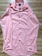 MENS J. Ferrar Size S Button-Down Long Sleeve Shirt Modern Fit Color Pink