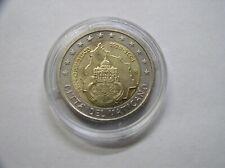 Vatikan 2 Euro 2004 UNC  75 Jahre Vatikan mit Kapsel  # 351
