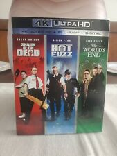 The World's End/Hot Fuzz/Shaun of the Dead Trilogy (4K/Blu-ray/No Digital)
