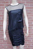 BCBG Maxazria Black Dress Womens Size 02
