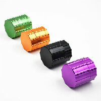 1X 50MM CNC Aluminum 4Piece Herb Tobacco Grinder Spice Mill Hand Crusher Muller