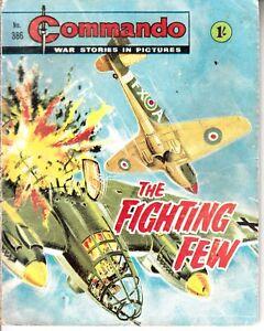 COMMANDO COMIC - No 386   THE FIGHTING FEW