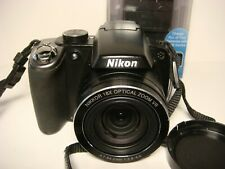 Nikon COOLPIX P80 10.1MP 18X Zoom Digital Camera Complete w/ Battery & Charger