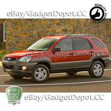 For 2005 2006 2007 2008 KIA Sportage Headlight Chrome Cover Bezel