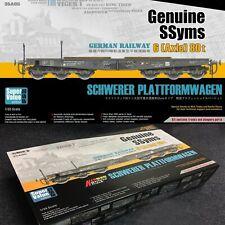 1/35 Sabre Model GERMAN RAILWAY 6-Axle 80t SSyms SCHWERER PLATTFORMWAGEN #35A05