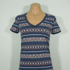 NOLLIE Pacsun Juniors V-neck Printed Tee size S