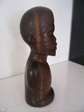 Buste en bois statue africaine superbe african art africain premier tribal