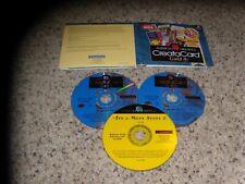 American Greetings Creatacard Gold 4 (PC, 1999) Program