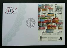 Finland UNESCO World Heritage Building 2002 Art City House Architecture (ms FDC)