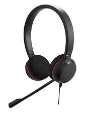 PC - Jabra Evolve 20 UC USB Stereo Headset #black  MINT CONDITION