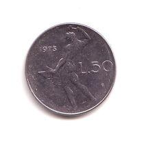 Repubblica Italiana  50 lire 1973 Vulcano 1°tipo acmonital    BB