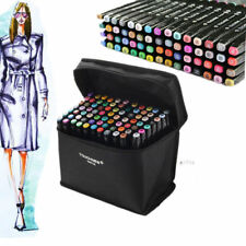 Markers 80 Color Art Drawing Twin Tips New Copic Style alcohol marker pen NEW