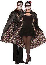 Day Of The Dead Cape Halloween Fancy Dress Accessory