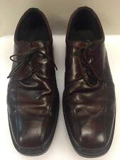 Geox Burgundy Brown Oxfords Four Eye India Made Men's 11 US 44 EUR Rare Vintage