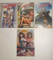 Marville 1 Greg H.Foil Variant Cover 2002 plus 3 bonus comics. Look at pics 🤩🤩