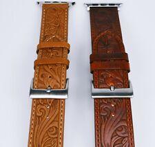 Lederarmband für Apple Watch Series 2 I 3 I 4 I 5 I 6 I Größe 38-40mm 42-44mm