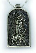 God Aram Sterling Silver Pendant