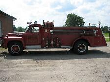 Antique Fire Truck Ford F-800 Big Job