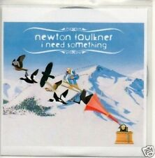 (722T) Newton Faulkner, I Need Something - DJ CD