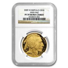 2009-W 1 oz Proof Gold Buffalo Coin - PF-70 NGC - SKU #60650