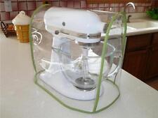 Green Apple Trimmed CLEAR MIXER COVER fits KitchenAid Tilt-Head  – (4.5-5 Qt.)