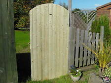 1800 x 915 mm arched top tongue and groove side gate