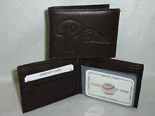 Philadelphia Phillies Leather Bifold Wallet DKBR 3 S