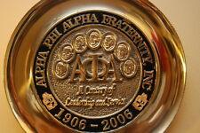 Alpha Phi Alpha Centennial Plate; Solid Brass Nine Years Old; Still Look New