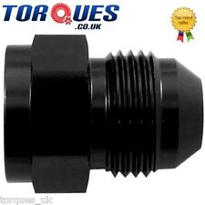 AN -6 Female AN -8 Male Straight Expander Adapter Black