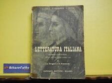 ART 7.679 LIBRO STORIA E ANTOLOGIA DELLA LETTERATURA ITALIANA DI C FAZIO VOL 1