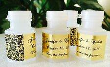 210 Damask GOLD FOIL BUBBLE LABELS/STICKERS for WEDDING or party FAVOR BOXES
