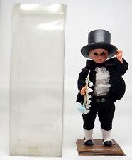 Puppe Trachtenpuppe West Friesland Schlafaugen Tracht ca. 19 cm OVP