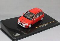 "IXO Subaru Vivio RX-R Test Car ""Ready to Race"" in Red 1993 MOC160 1/43 NEW"
