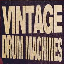 Vintage Drum Machine 2 SOUND SAMPLES KIT MPC 1000 2000 2500 Fruity Logic Reason