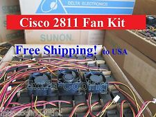 Cisco 2811 Router Fan Kit (3 new fans), ACS-2811-FAN-KIT= 7-yr Warranty!