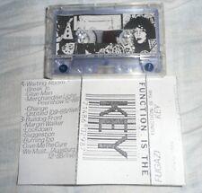 Cassette FUGAZI Function Is The Key SOA Tape Live Punk MacKaye Picciotto Canty
