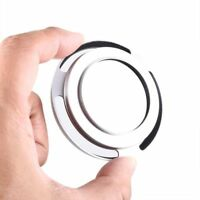 37mm Silver Metal Tilted Vented Lens Hood for Sony Leica Canon NEX Olympus Nikon