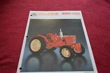 Belarus 500 520 Tractor Dealer's Brochure DCPA2